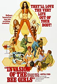 Invasion of the Bee Girls (1973) Poster - Movie Forum, Cast, Reviews