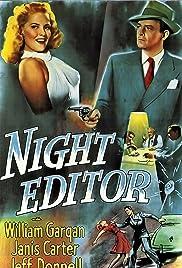 Night Editor Poster