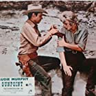 Audie Murphy and Joan Staley in Gunpoint (1966)