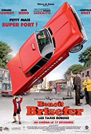 Benoît Brisefer: Les taxis rouges Poster