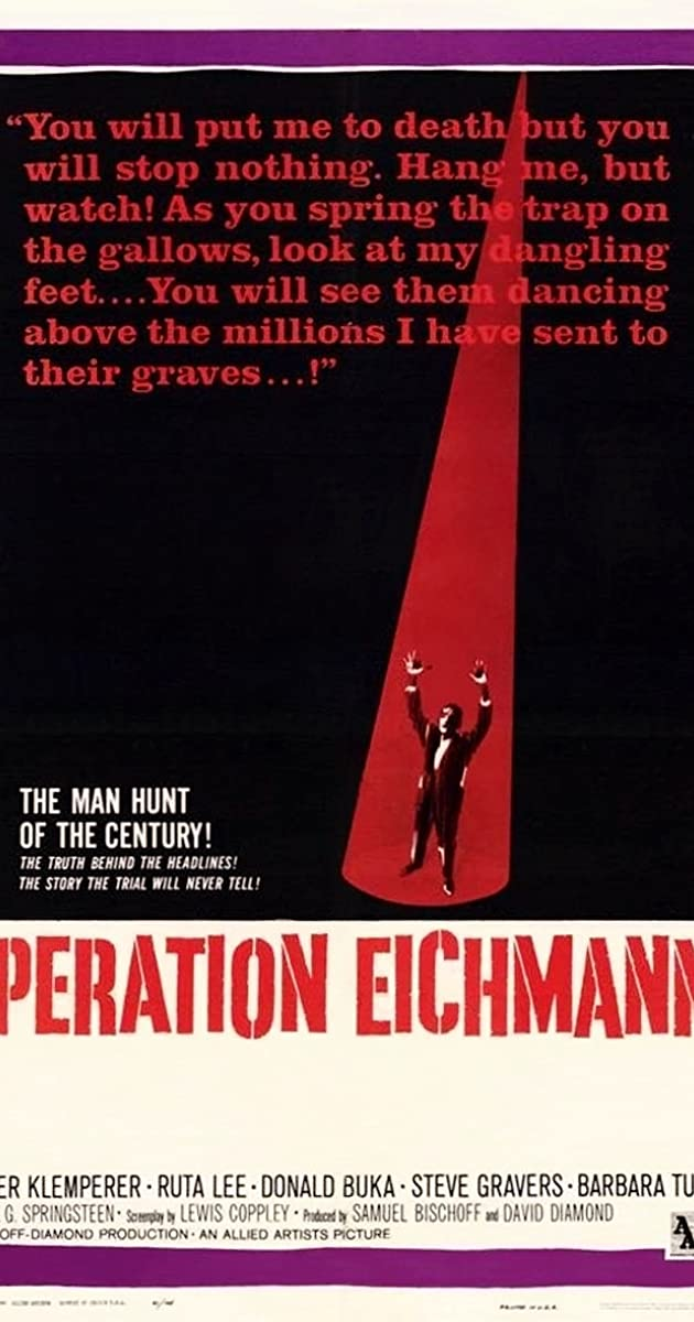 Operation Eichmann 1961 Imdb