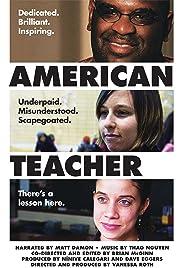 American Teacher Poster