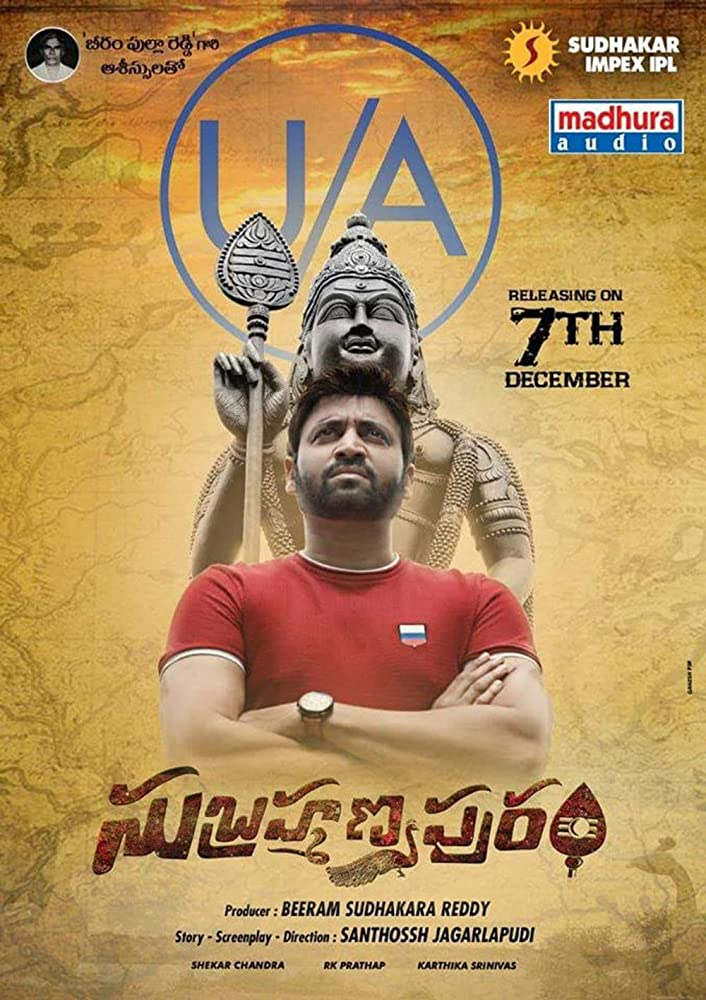 Subrahmanyapuram 2020 UNCUT 720p WEB-HD Dual Audio Hindi 600MB