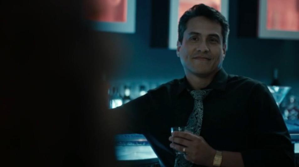 Demi Castro as Dr. James Rivera in Murder Rx.