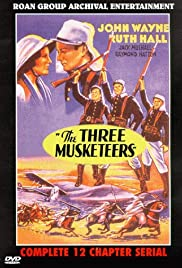 Computer movie watching The Three Musketeers by Allan Dwan [1280x720p]