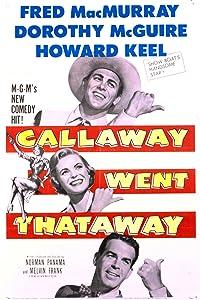Watch movie Callaway Went Thataway [480p]