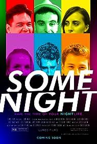 Adrián van der Valk, Jason Aaronson, Jess Thompson, Enrico Banson, Bree Swartwood, and Jacob Ben-Shmuel in Some Night (2020)