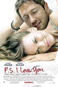 Hilary Swank and Gerard Butler in P.S. I Love You (2007)