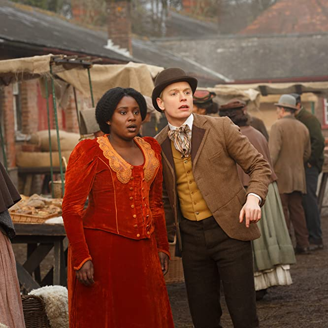 Susan Wokoma and Freddie Fox in Year of the Rabbit (2019)