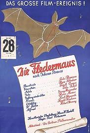 Die Fledermaus Poster