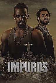 Rui Ricardo Diaz and Raphael Logam in Impuros (2018)
