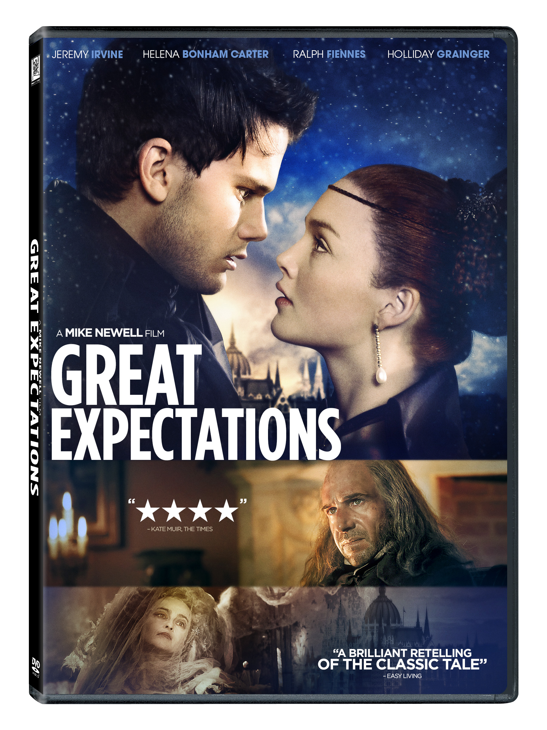 Ralph Fiennes, Helena Bonham Carter, Holliday Grainger, and Jeremy Irvine in Great Expectations (2012)
