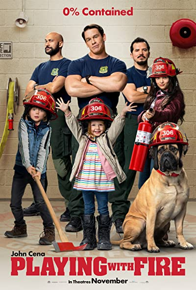 Playing with Fire 2019 Full English Movie Download 400MB 480p HDRip