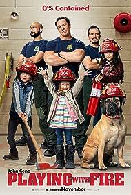John Leguizamo, Finley Rose Slater, John Cena, Keegan-Michael Key, Brianna Hildebrand, and Christian Convery in Playing with Fire (2019)