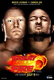 WWE Great Balls of Fire Poster