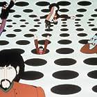 Paul McCartney, John Lennon, Paul Angelis, Peter Batten, John Clive, George Harrison, Geoffrey Hughes, Ringo Starr, and The Beatles in Yellow Submarine (1968)