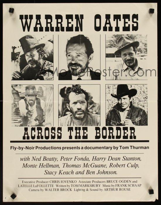 Warren Oates: Across the Border (1993) - IMDb