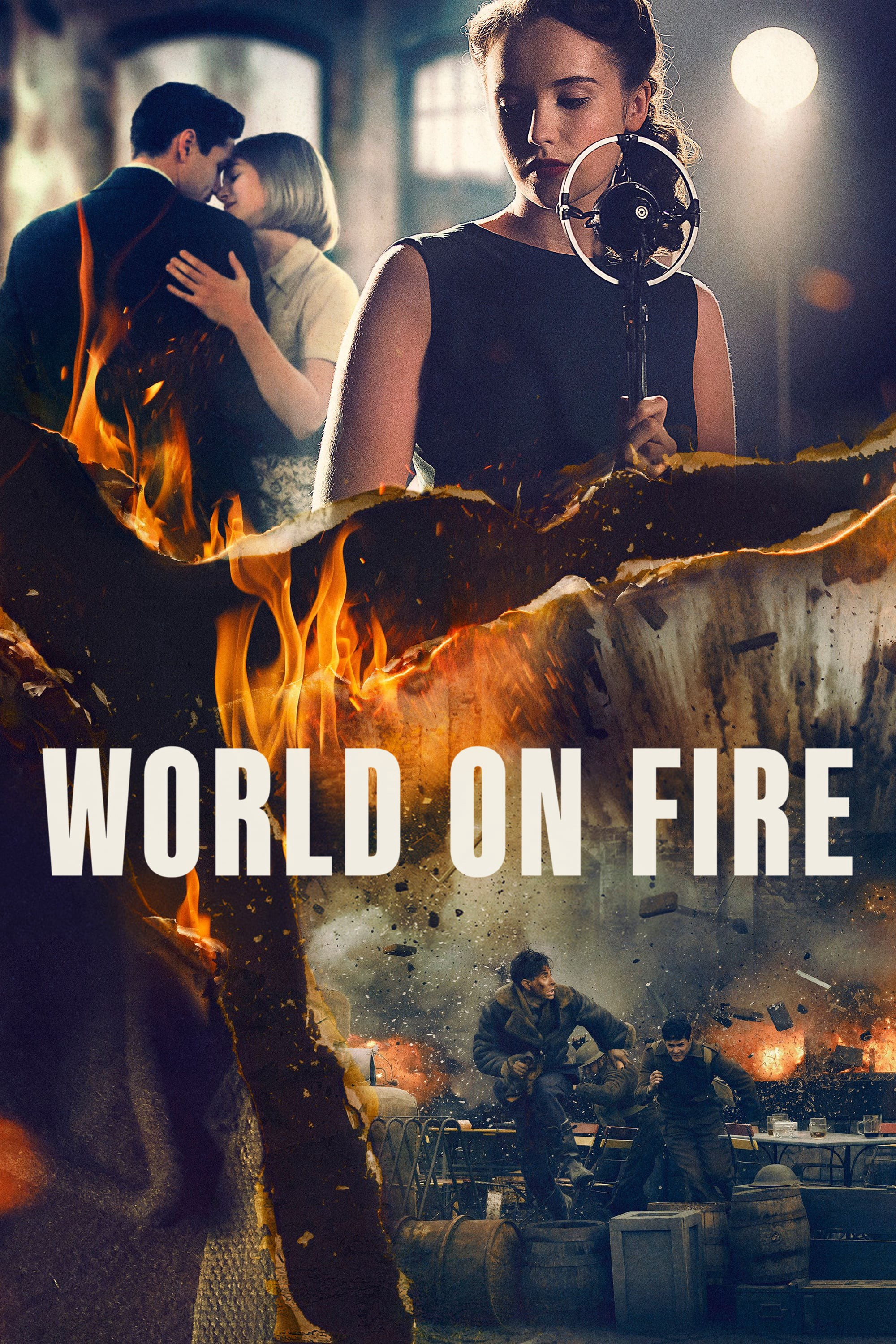 Degantis pasaulis (1 Sezonas) / World On Fire Season 1