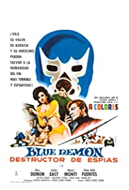 Blue Demon destructor de espias Poster
