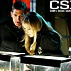 Elisabeth Harnois and Eric Szmanda in CSI: Crime Scene Investigation (2000)