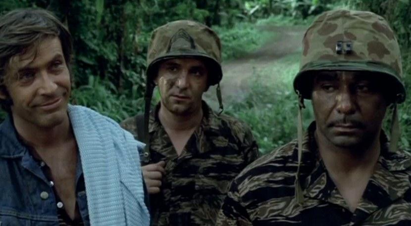 John Garwood, Bernie Hamilton, and Adam Roarke in The Losers (1970)