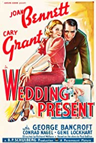 Cary Grant and Joan Bennett in Wedding Present (1936)