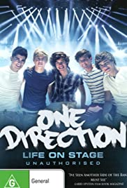 One Direction: Life on Stage Poster