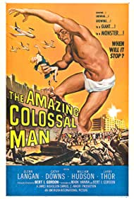 Cathy Downs and Glenn Langan in The Amazing Colossal Man (1957)