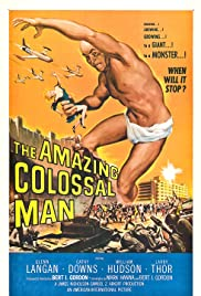 The Amazing Colossal Man Poster