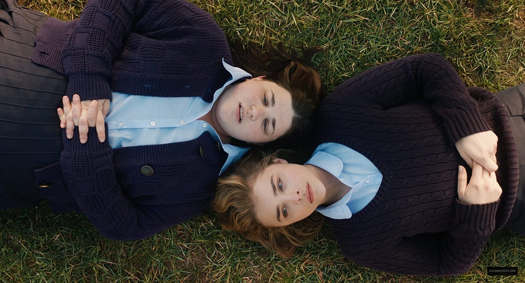 Chloë Grace Moretz and Melanie Ehrlich in The Miseducation of Cameron Post (2018)