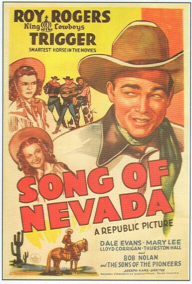 Roy Rogers, Dale Evans, and Mary Lee in Song of Nevada (1944)