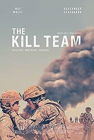 Alexander Skarsgård and Nat Wolff in The Kill Team (2019)