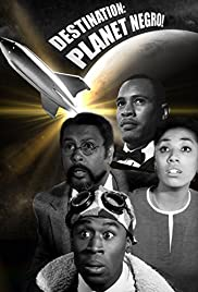 Destination Planet Negro Poster