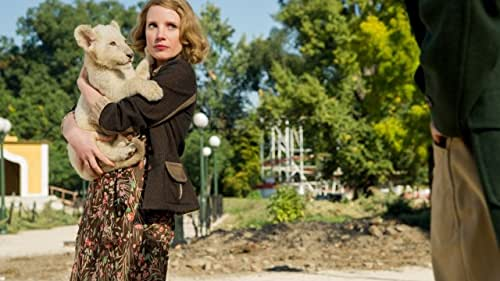 The real-life story of one working wife and mother who became a hero to hundreds during World War II. In 1939 Poland, Antonina Zabinska and her husband, Dr. Jan Zabinska, have the Warsaw Zoo flourishing under his stewardship and her care. When their country is invaded by the Nazis, Jan and Antonina are forced to report to the Reich's newly appointed chief zoologist, Lutz Heck. To fight back on their own terms, Antonina and Jan covertly begin working with the Resistance, and put into action plans to save lives out of what has become the Warsaw Ghetto, with Antonina putting herself and even her children at great risk.