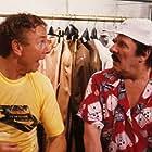Gaston Berghmans and Leo Martin in Paniekzaaiers (1986)