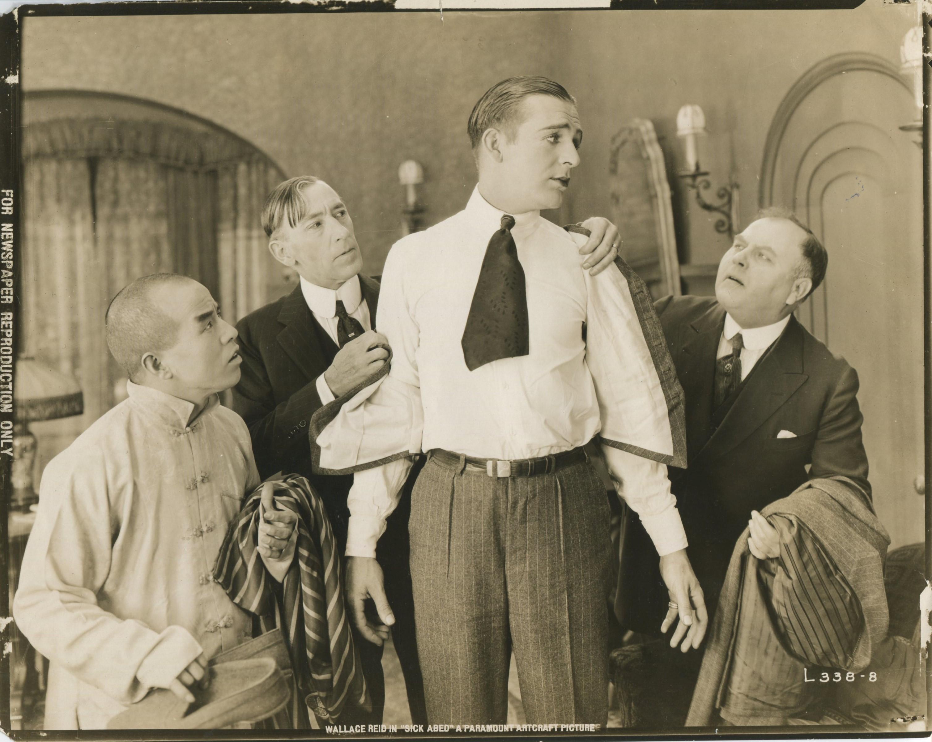 Wallace Reid in Sick Abed (1920)