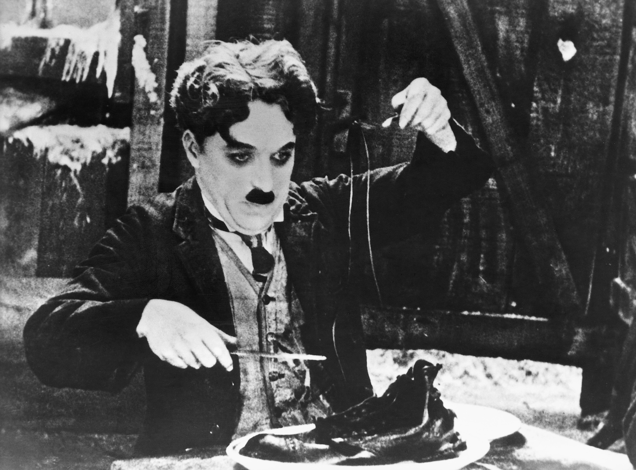 Charles Chaplin in The Gold Rush (1925)