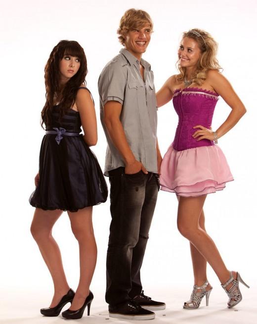 Julianna Guill, Lauren McKnight, and Chris Zylka in My Super Psycho Sweet 16 (2009)