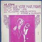 Marlene Dietrich in Ich küsse Ihre Hand, Madame (1929)