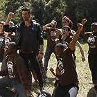 Garikayi Mutambirwa, Chris Salvatore, Rob Westin, and Aaron Milo in Eating Out: Drama Camp (2011)