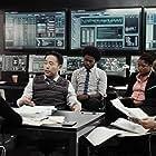 Victoria Antionette, Daniel David Stewart, Echo Kellum, and Eddie Yu in The Fugitive (2020)