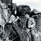Robert Wagner and Hugh O'Brian in White Feather (1955)