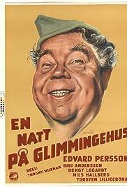 En natt på Glimmingehus Poster