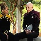 Patrick Stewart and Michelle Hurd in Star Trek: Picard (2020)