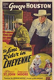 The Lone Rider in Cheyenne Poster