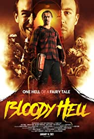 Meg Fraser and Ben O'Toole in Bloody Hell (2020)