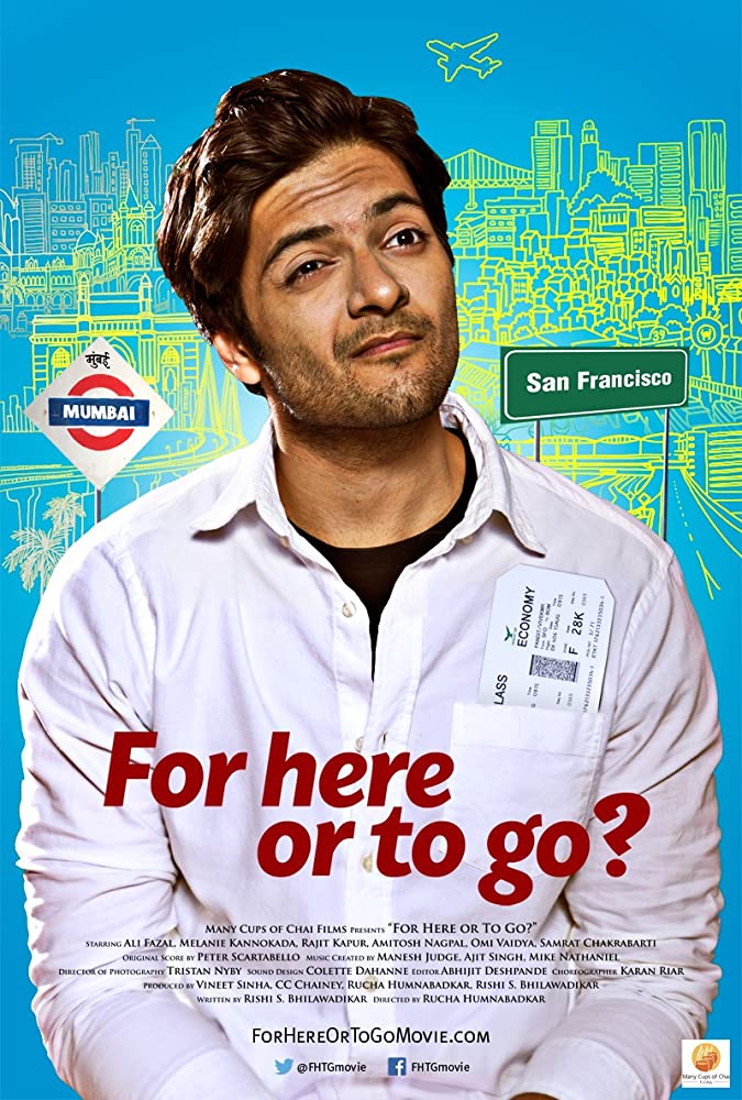 For Here or to Go (2018) Hindi 720p HDRip x264 800mb full movie free download and Watch online