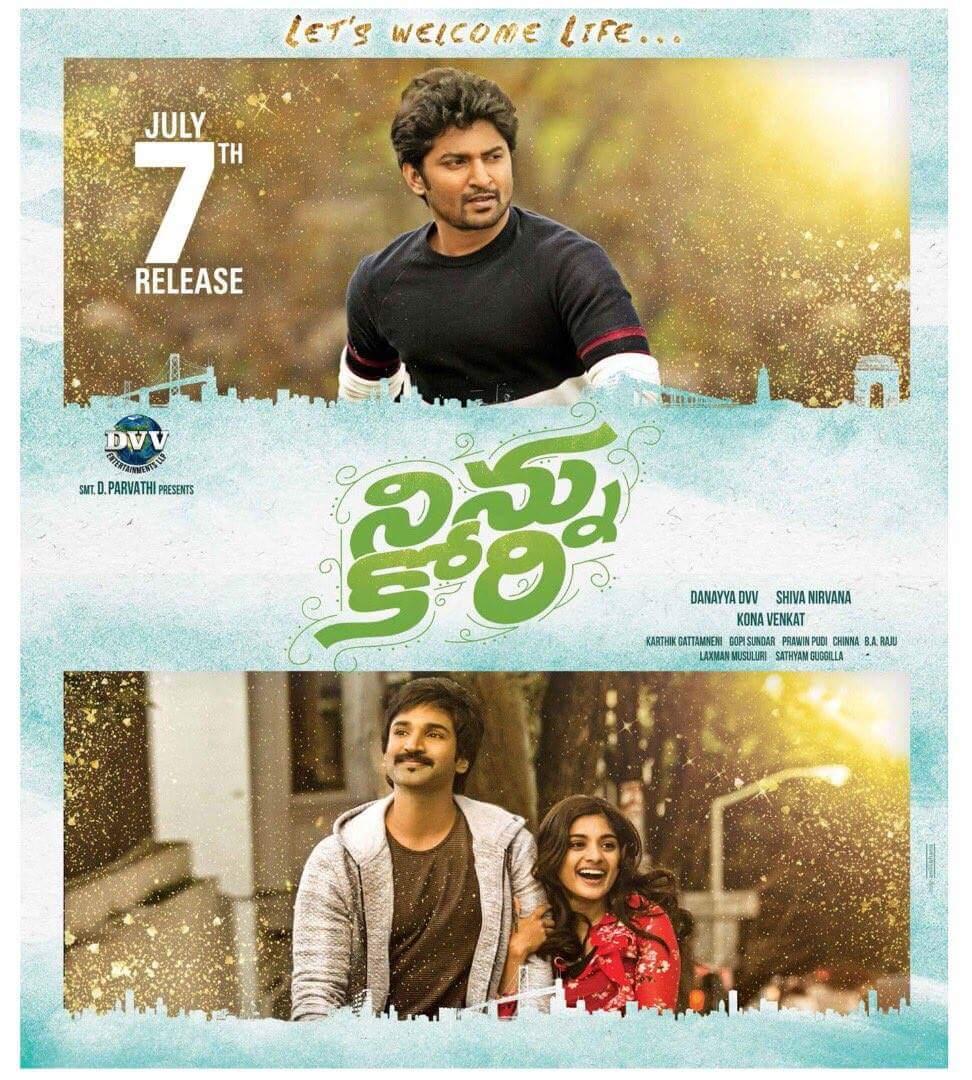 Ninnu Kori (2017) Telugu Full Movie 480p, 720p Download