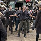 Steven Ogg, Pollyanna McIntosh, and Mike Seal in The Walking Dead (2010)