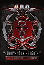 U.D.O.: Navy Metal Night Poster